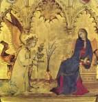 Simone Martini, La Anunciación